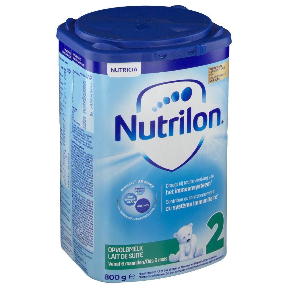 Nutrilon® 2 Lait de suite dès +6 mois Pronutra g poudre