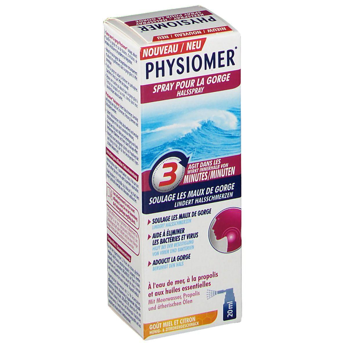 Physiomer® Spray pour la gorge ml spray buccal