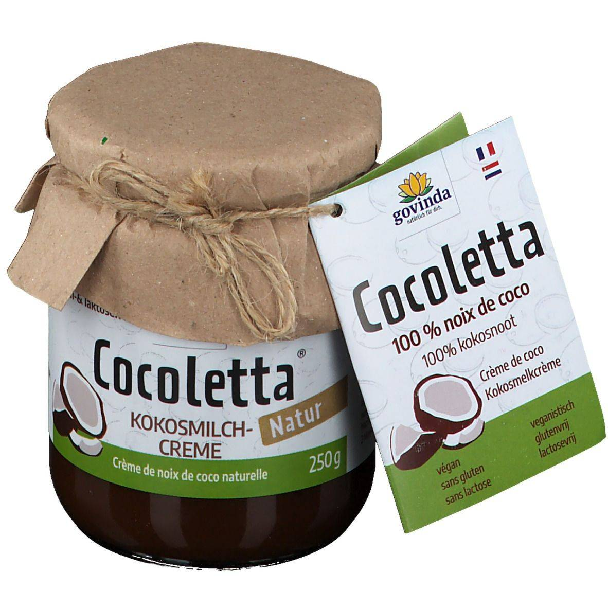 Govinda Bio Cocoletta Crème de lait de coco - noix de coco g crème