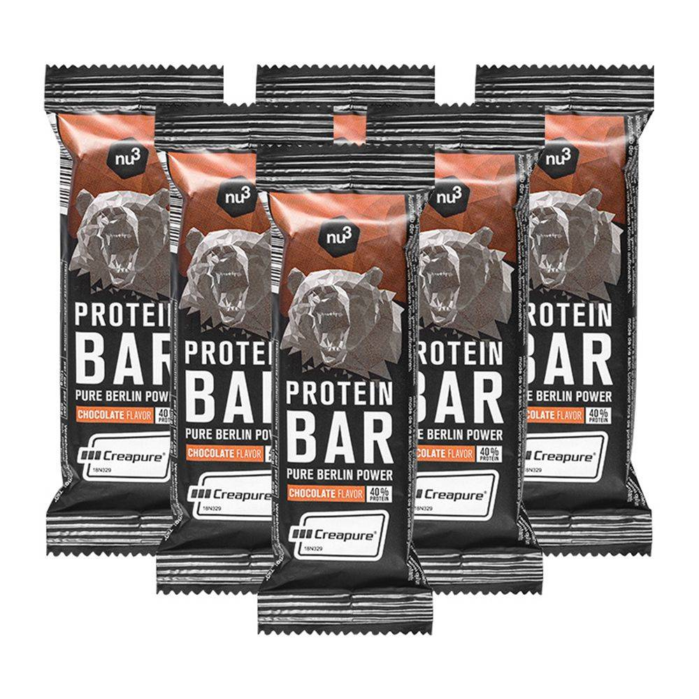 nu3 Protein Bar 40 %, Chocolat g Barre