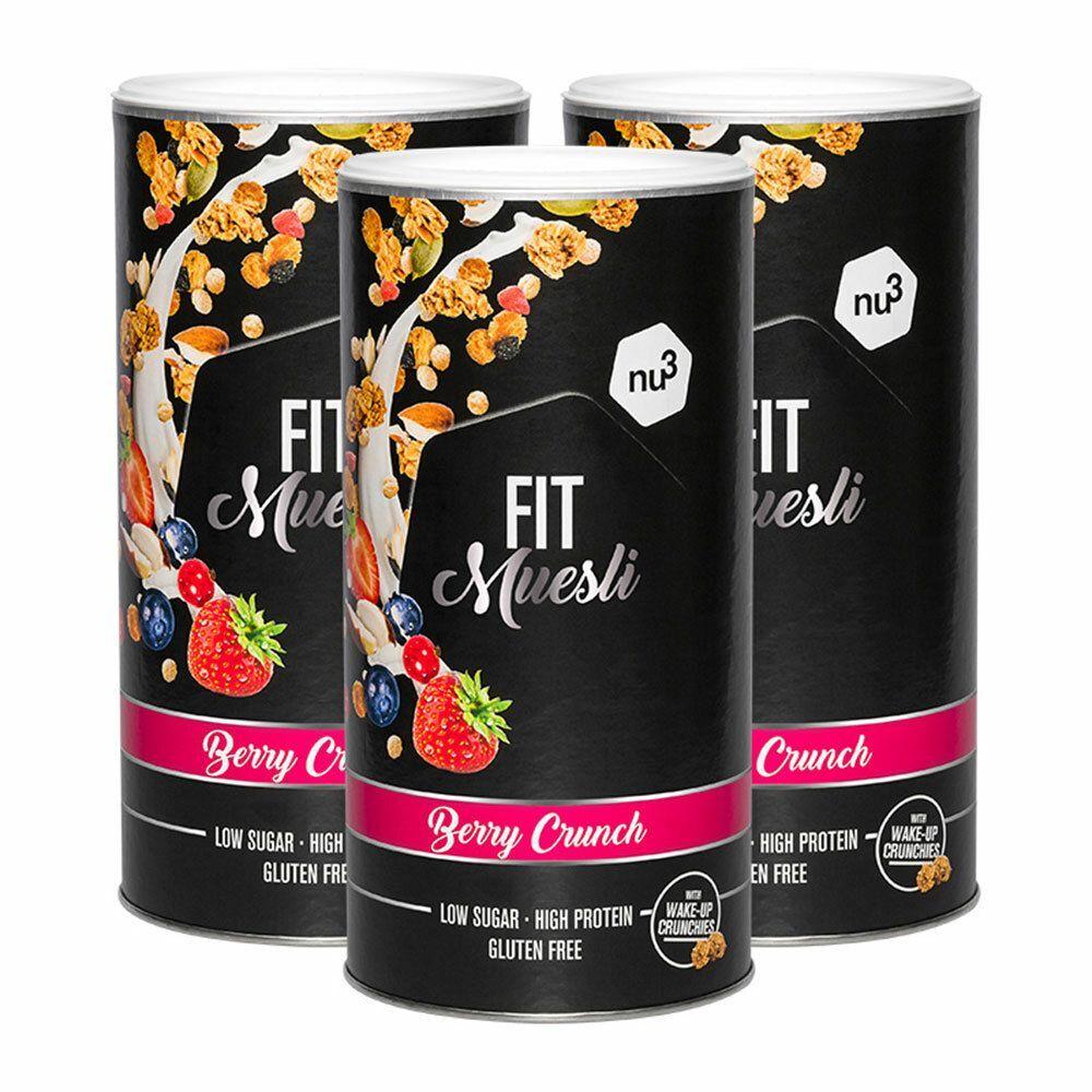 nu3 FIT Protein Muesli, Berry Crunch g Muesli