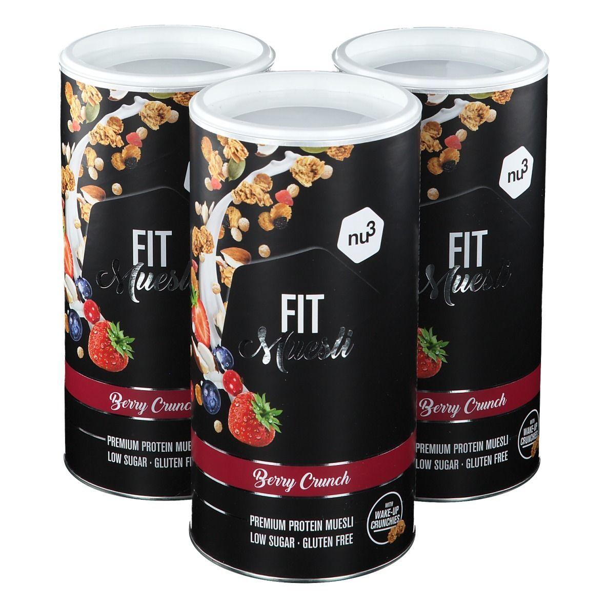 nu3 FIT Protein Muesli, Berry Crunch g céréales