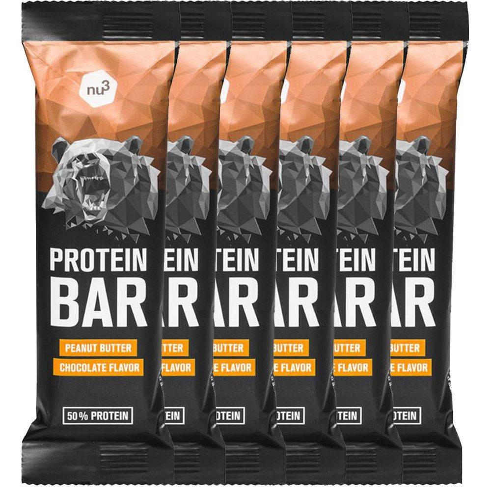nu3 Protein Bar 50 %, Peanut Butter-Chocolate pc(s) Barre