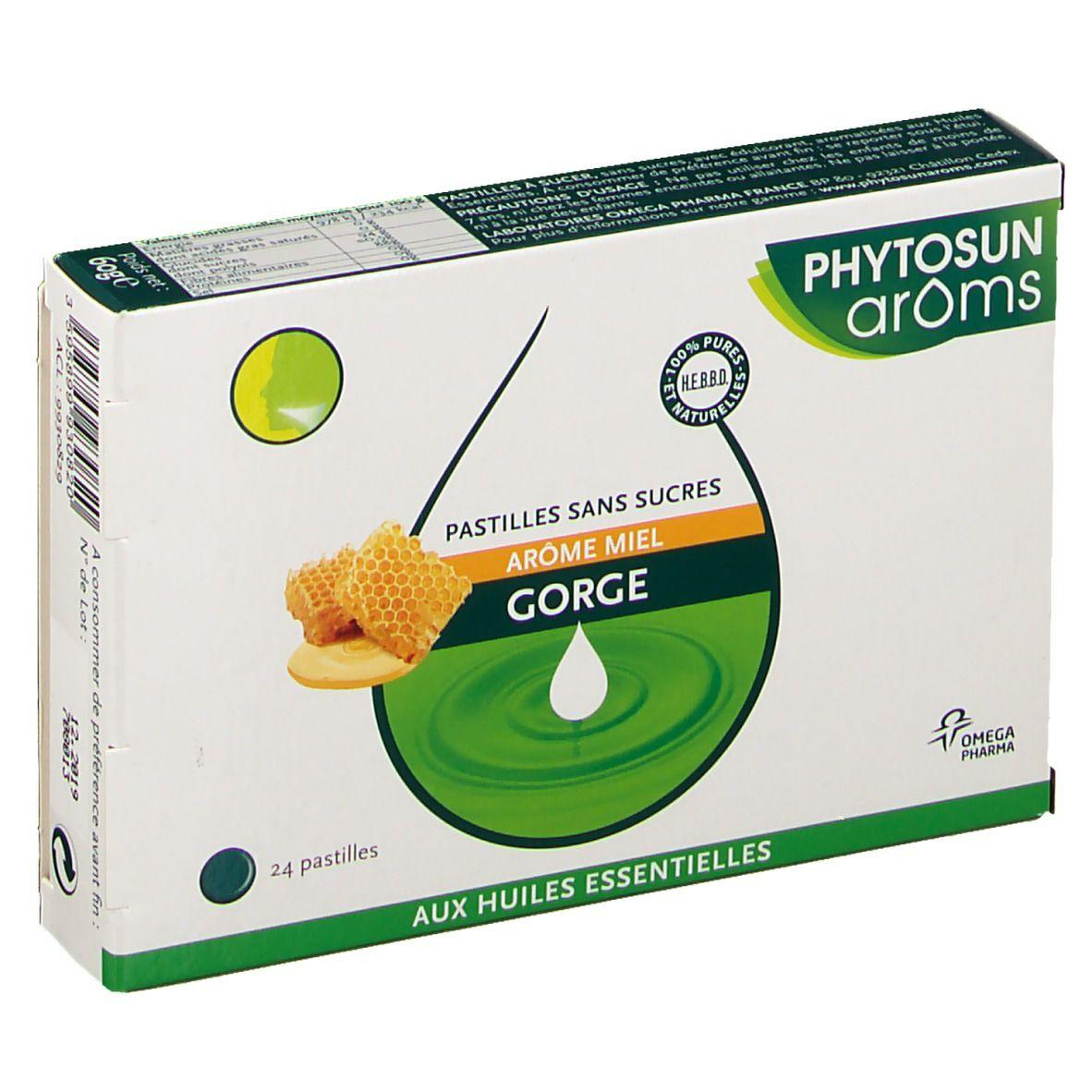 Phytosun arôms Phytosun Aroms Pastilles au miel sans sucre pc(s) pastille(s)