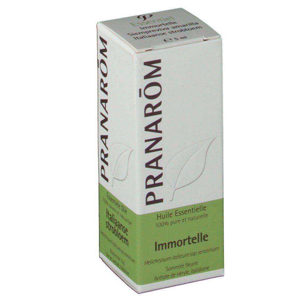 Pranarôm Huile Essentielle Immortelle ml huile