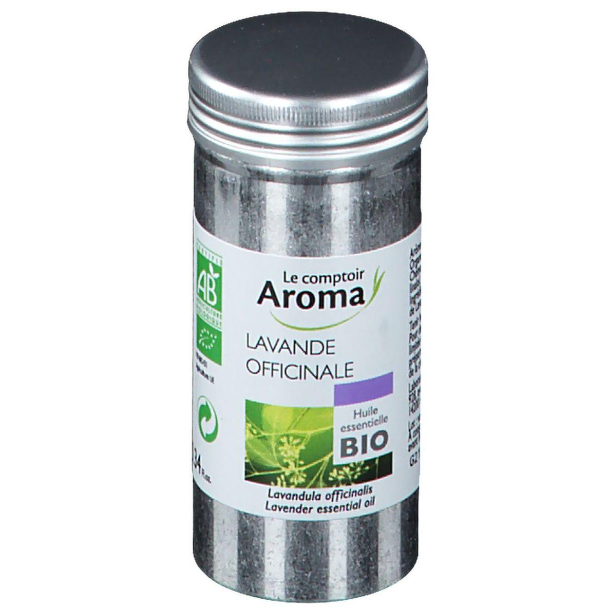 Le Comptoir Aroma huile essentielle bio Lavande officinale ml huile