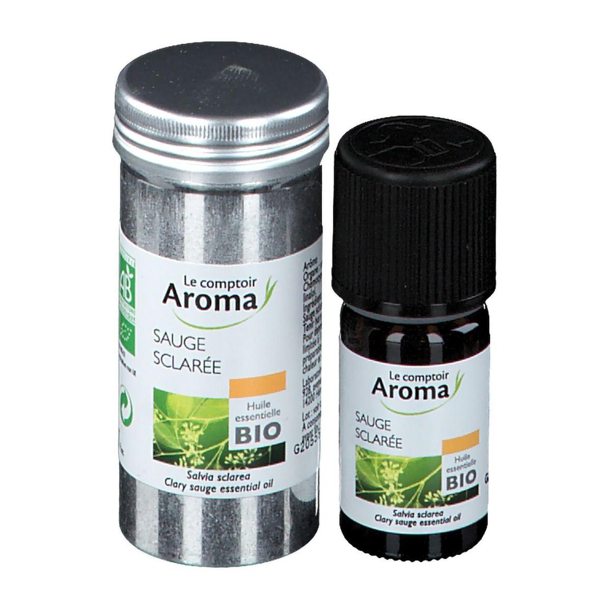 Le Comptoir Aroma huile essentielle Sauge sclarée ml huile