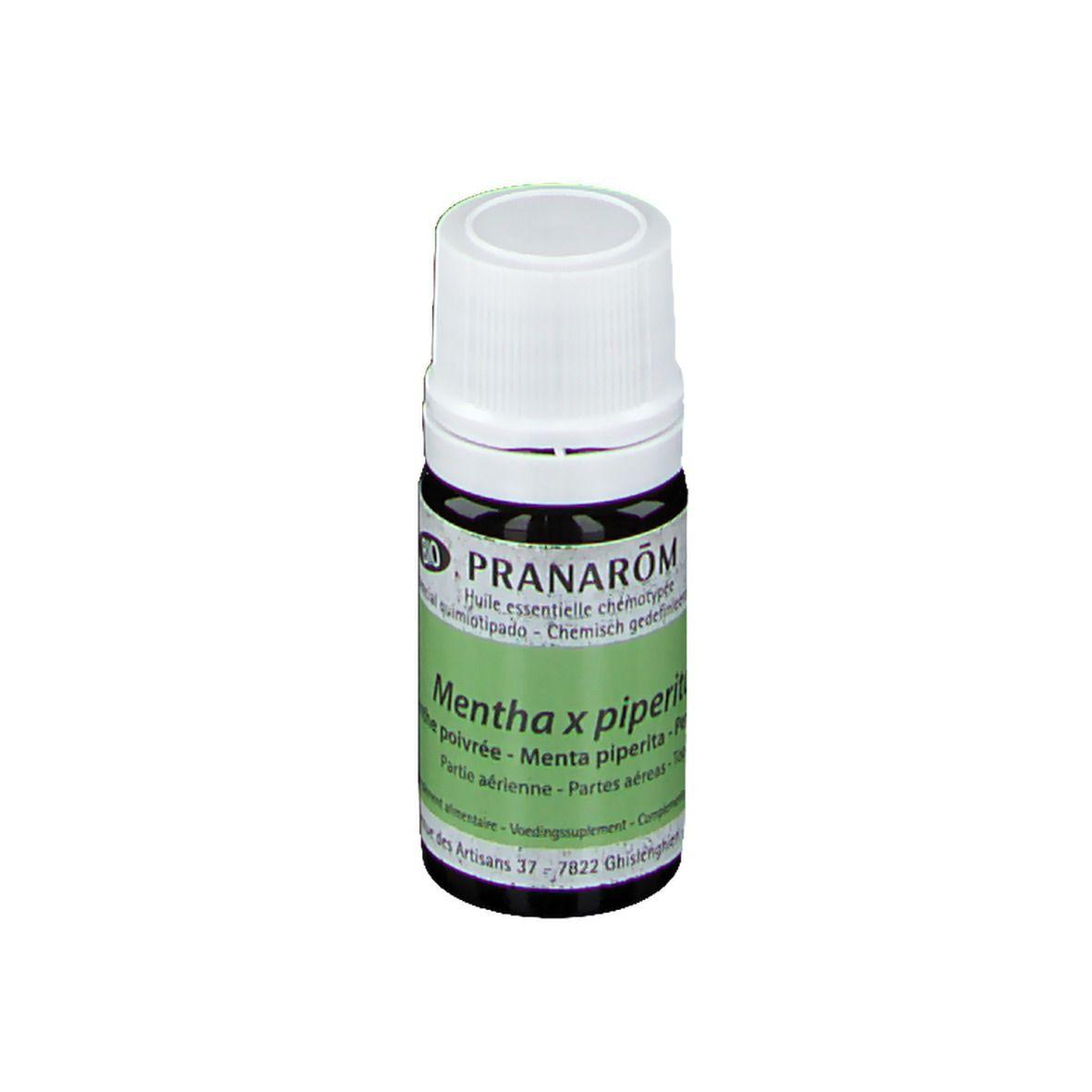 Pranarôm Pranarom Huile Essentielle Menthe poivrée Bio ml huile