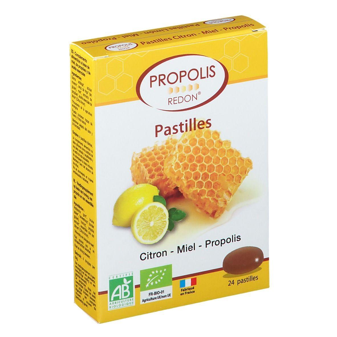 Propolis Redon® Pastilles Citron, Miel et Propolis pc(s) pastille(s)