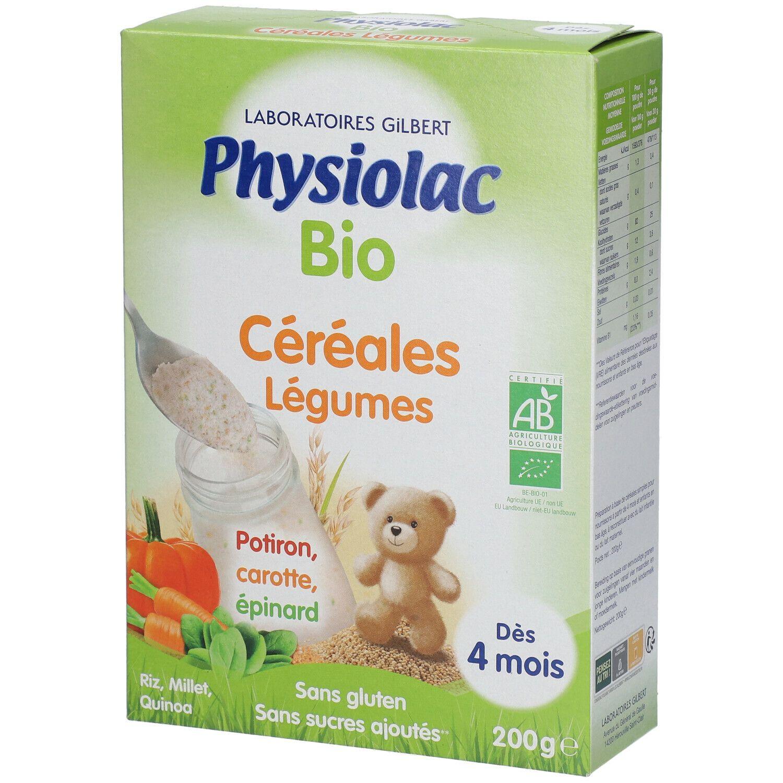 Physiolac Bio Céréales Légumes g Muesli
