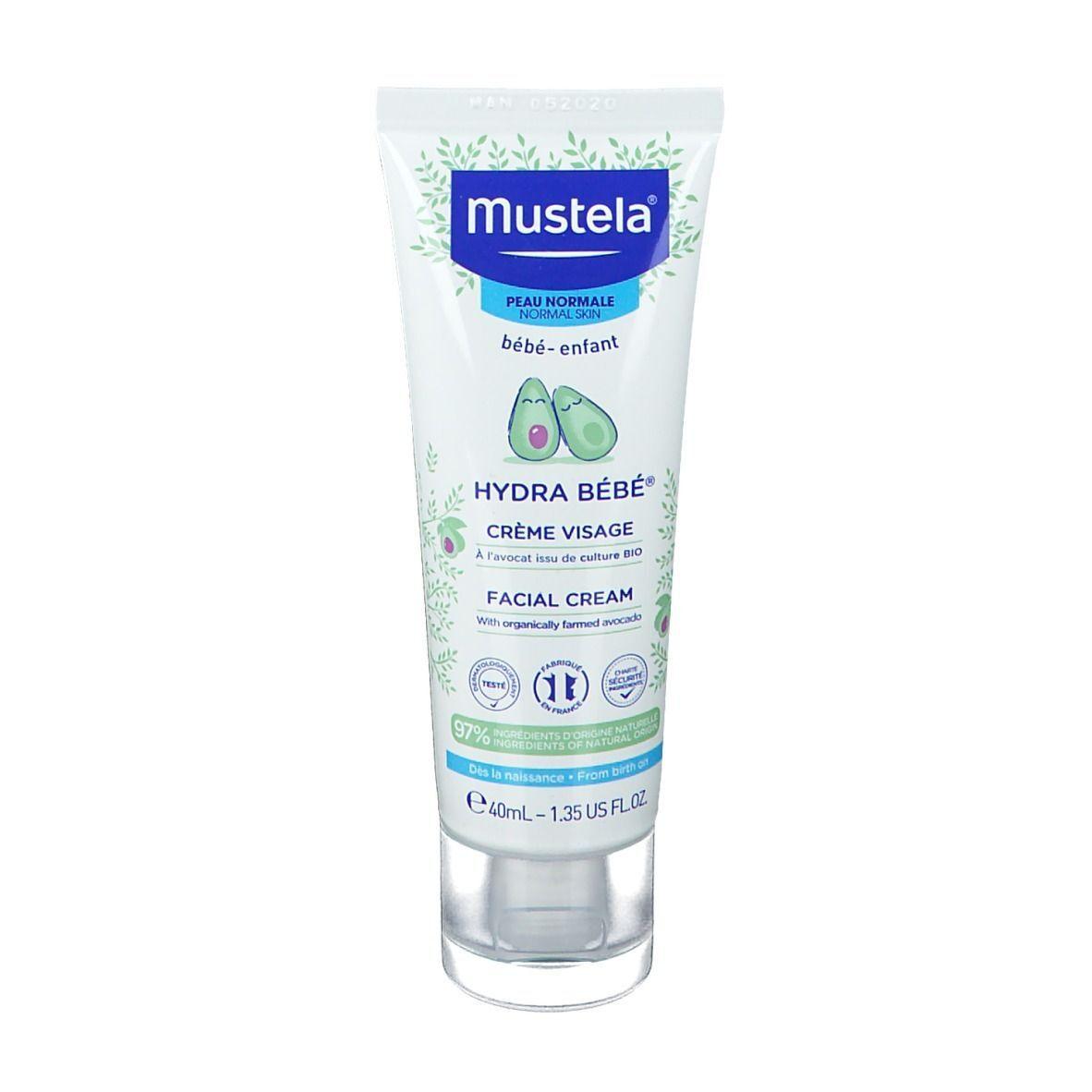 mustela® Bébé Enfant Hydra Bébé® Crème Visage Peau Normale ml crème