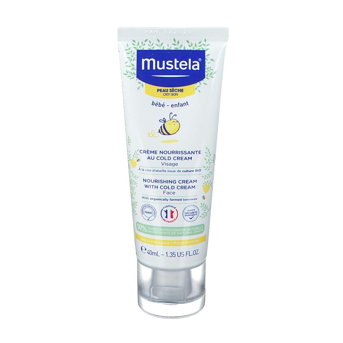mustela® Bébé Enfant Crème Nourrissante au Cold Cream Peau Sèche ml crème