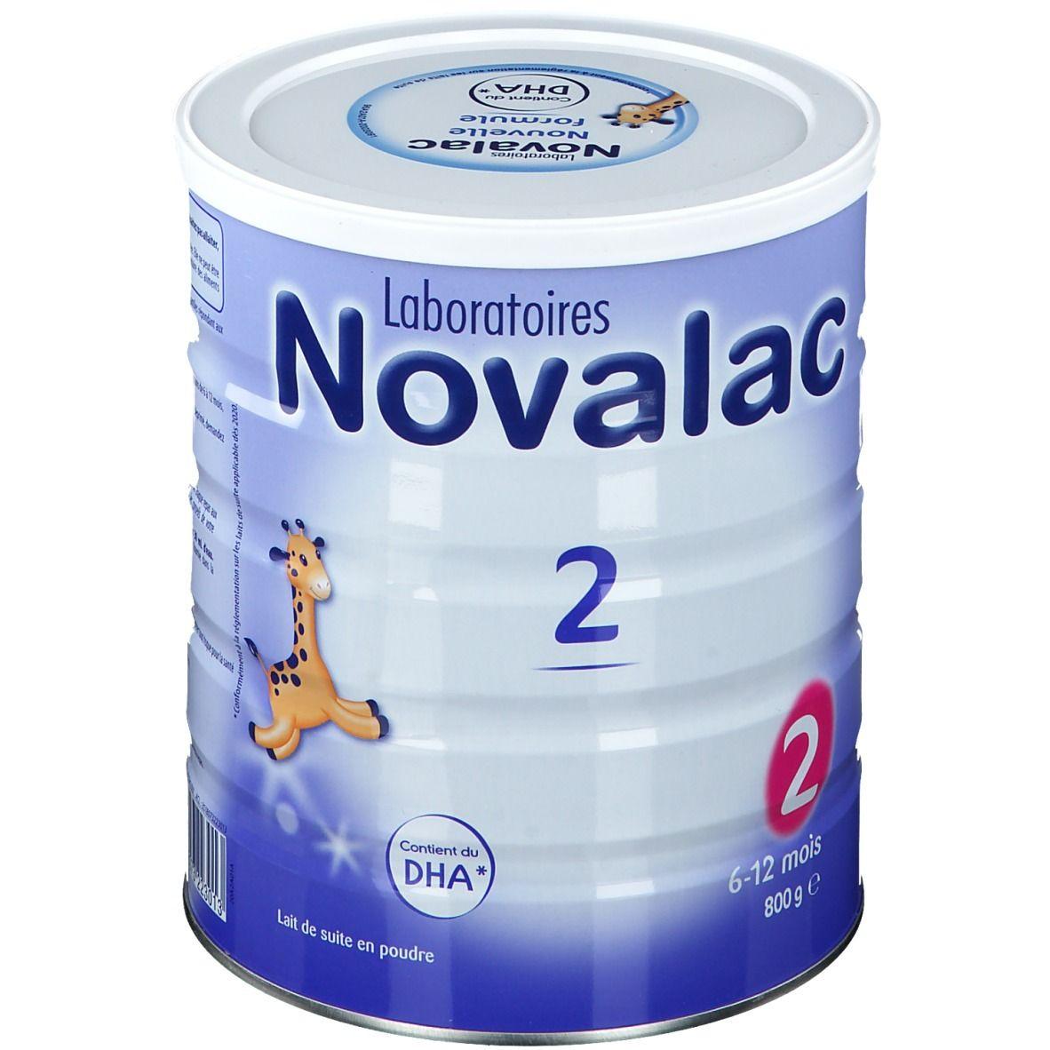Novalac 2 Lait de suite 2ème âge g poudre