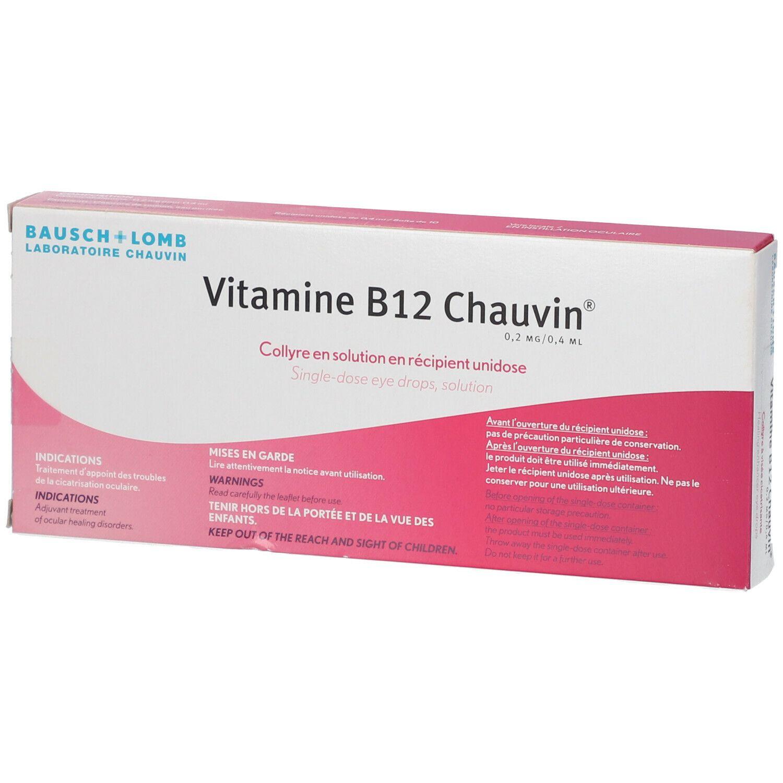 Vitamine B12 Chauvin ml pipette(s) unidose(s)