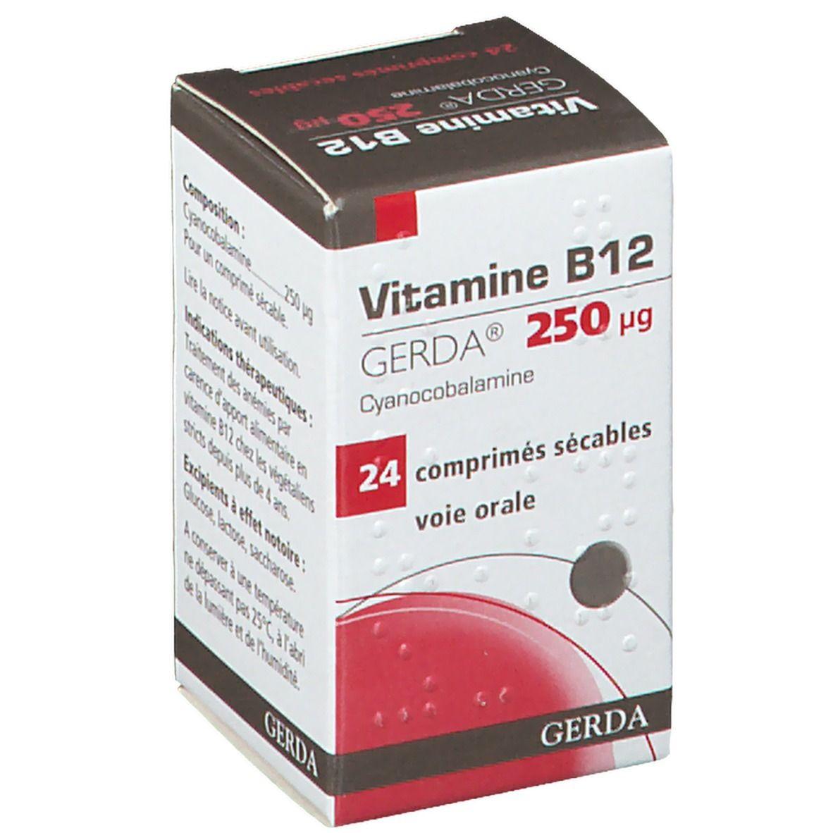 Gerda® Gerda Vitamine B12 pc(s) comprimé(s)