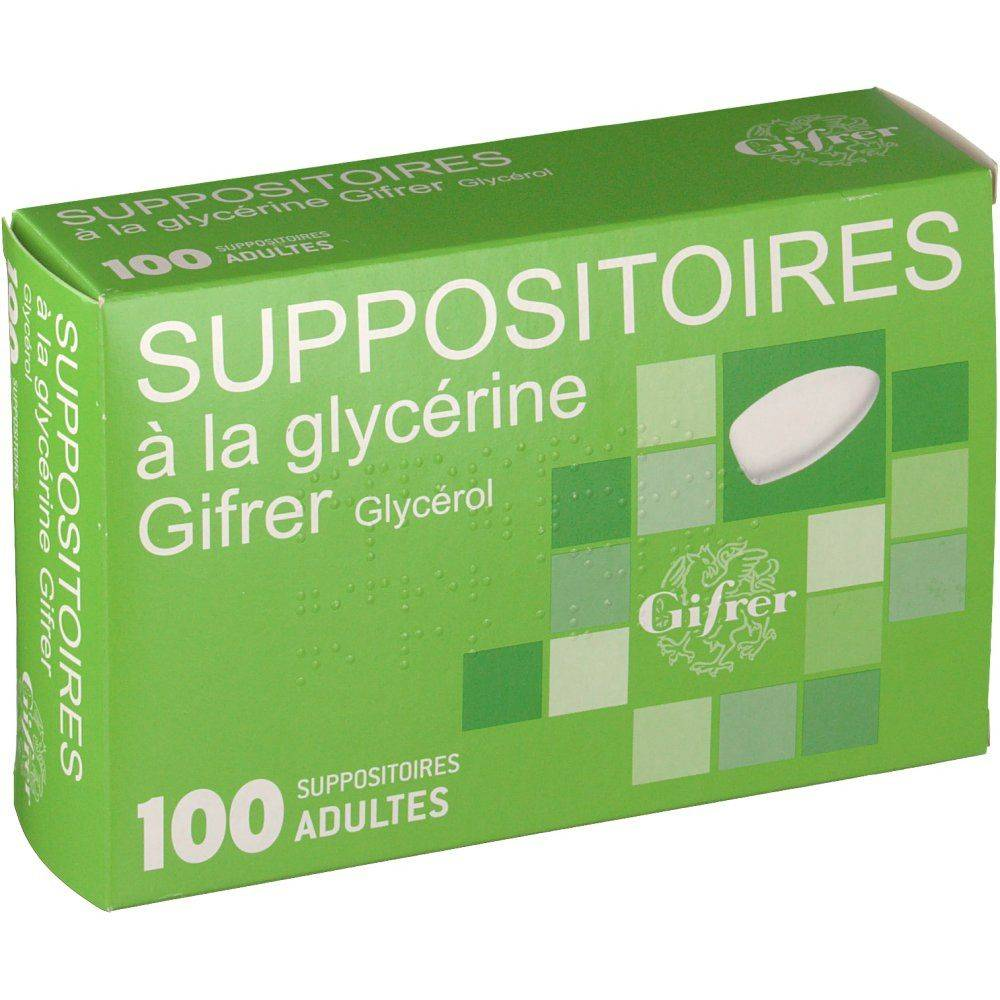 Gifrer Suppositoires Glycerine adultes pc(s) suppositoire(s) pour adultes