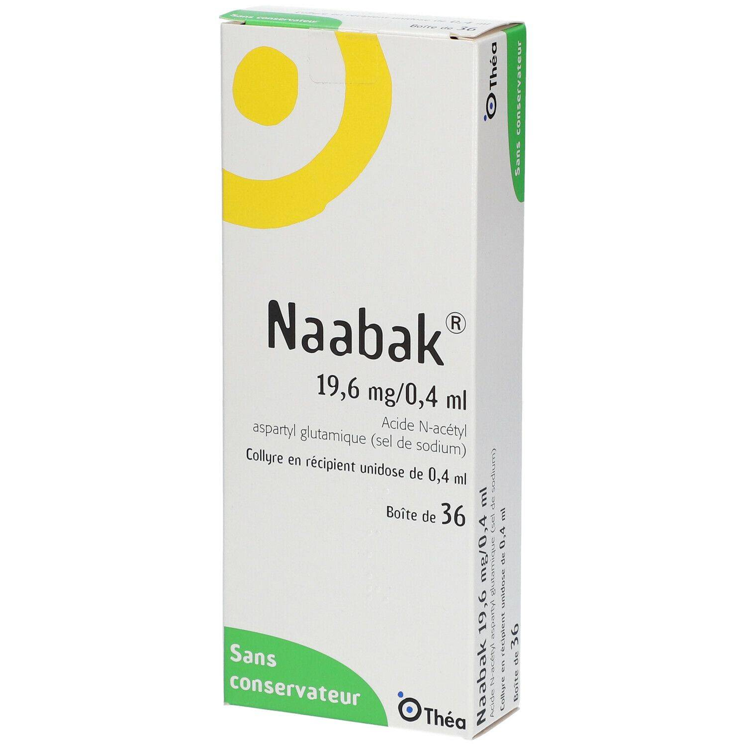 Naabak 19,6 mg/0,4 ml ml pipette(s) unidose(s)