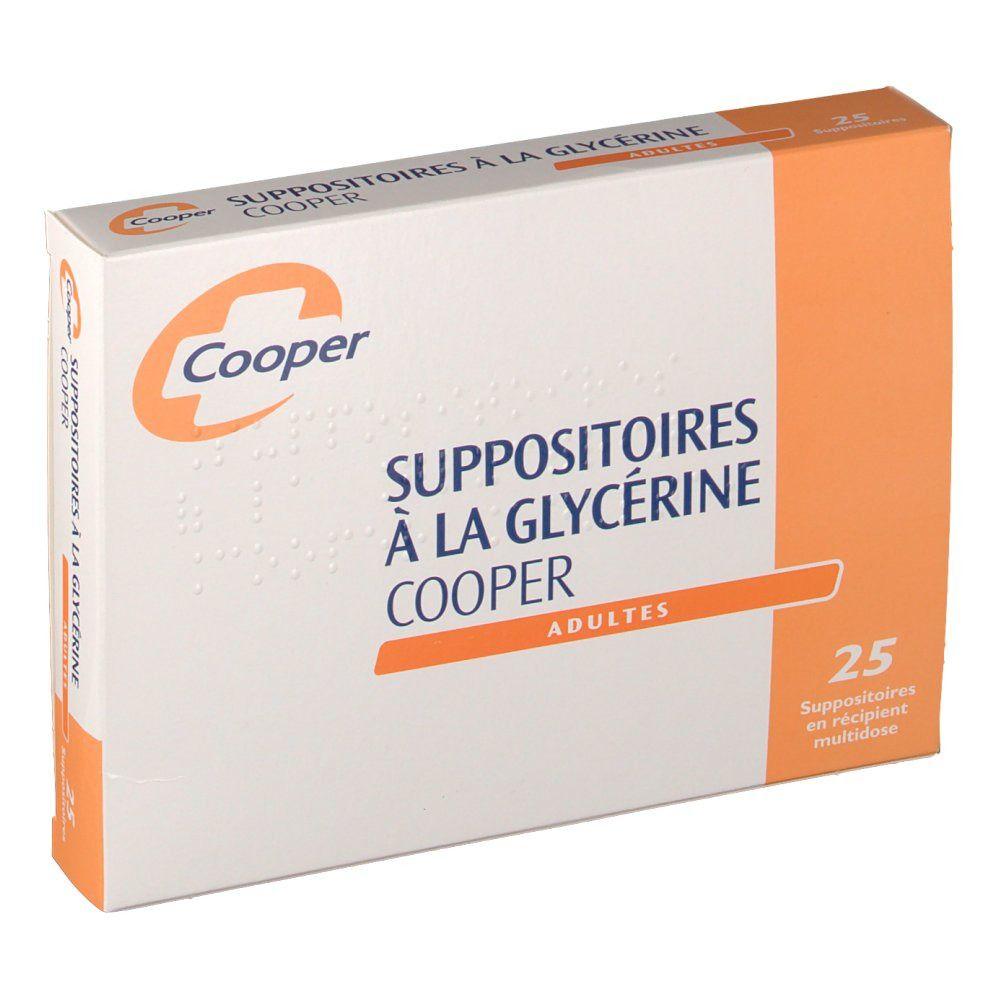 Cooper Suppositoires à la Glycérine pc(s) suppositoire(s) pour adultes