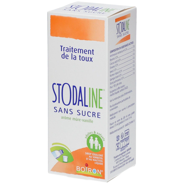 Boiron® Boiron Stodaline® sans sucre ml sirop pour la toux