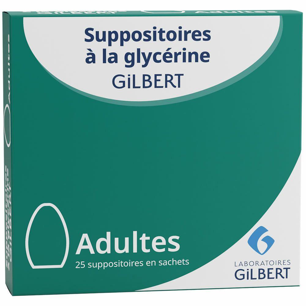 Gilbert Suppositoires à la glycérine pc(s) suppositoire(s) pour adultes
