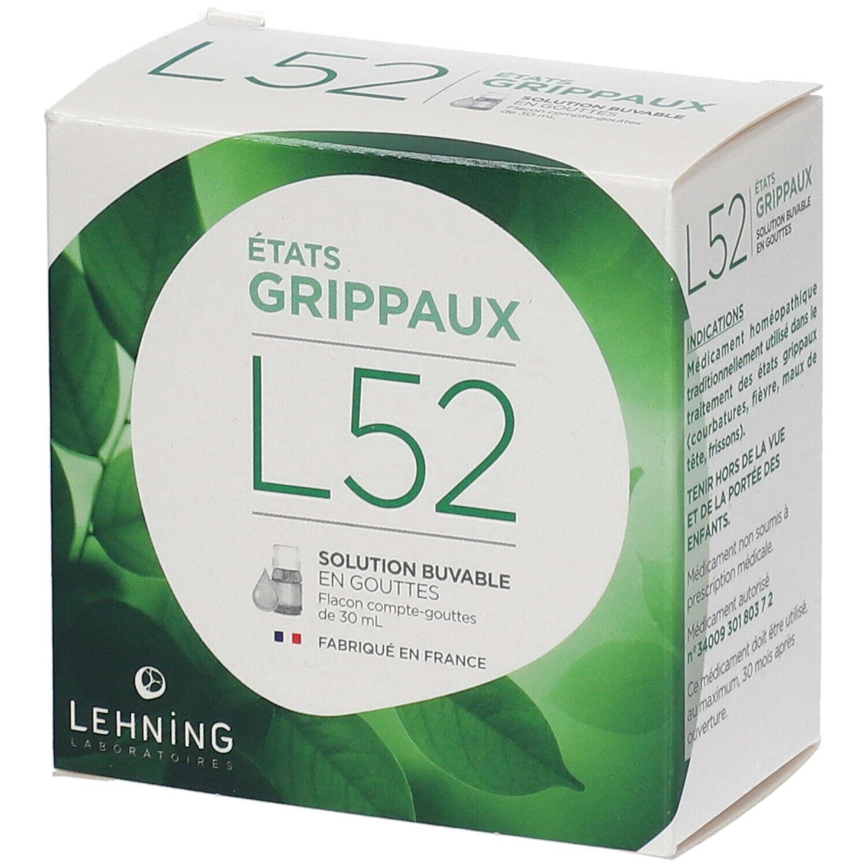 LEHNING L52 Solution buvable en gouttes ml solution(s)