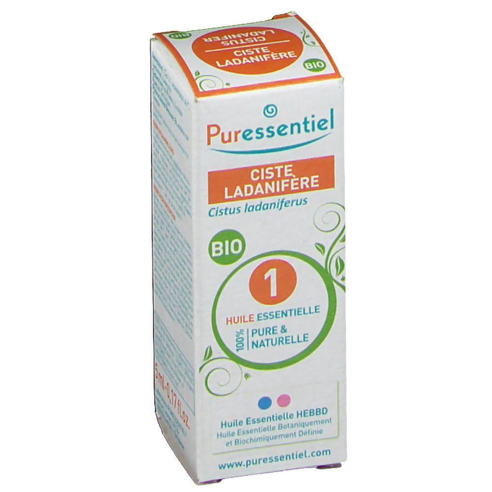 PuressentielBenelux Puressentiel Ciste Ladanifère Huile Essentielle Bio ml huile