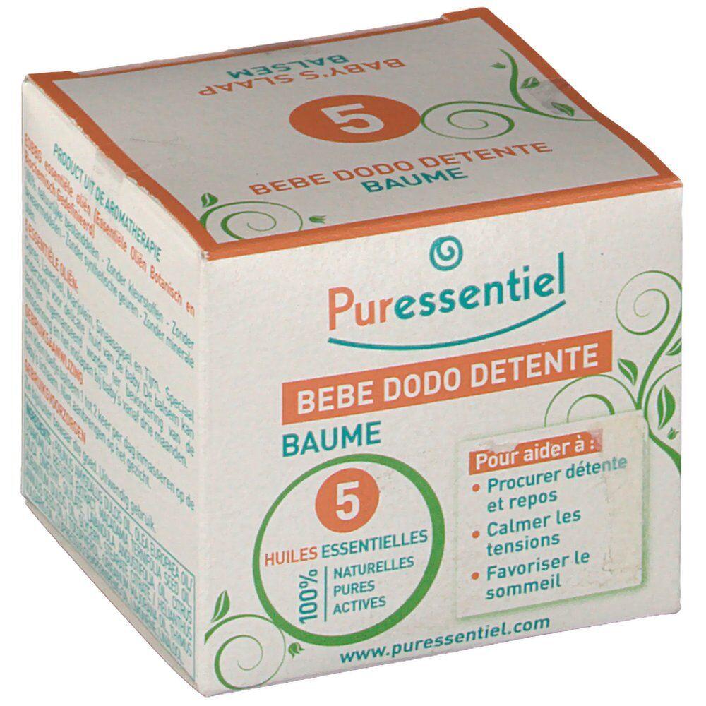 Puressentiel baume bébé dodo détente aux 5 huiles essentielles ml baume