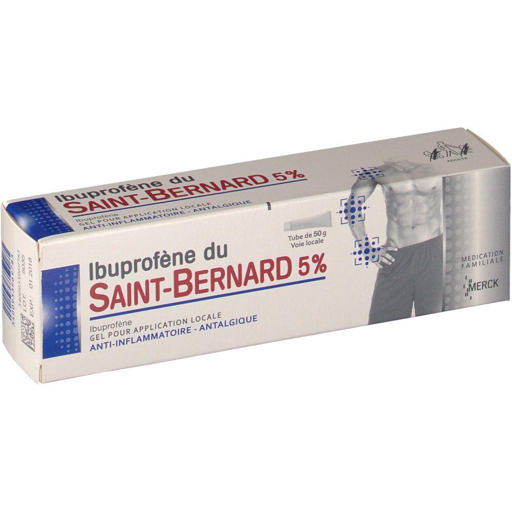 Ibuprofène du Saint-Bernard MerckIbuprofèneduSaint-Bernard5% g gel(s)