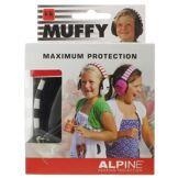 Energetic Food & Supplements Alpine Muffy Kids Casque de protection auditive Noir 1 pc(s) 8717154024371