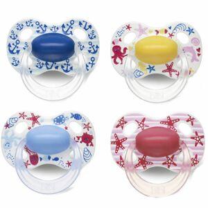 bibi® Happiness Tétine Naturale en silicone +16 mois (Couleur non sélectionnable) pc(s) sucette(s) - Publicité