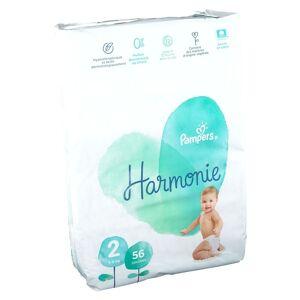 Pampers Harmonie Couches Taille 2, 4-8 kg pc(s) couche(s) - Publicité