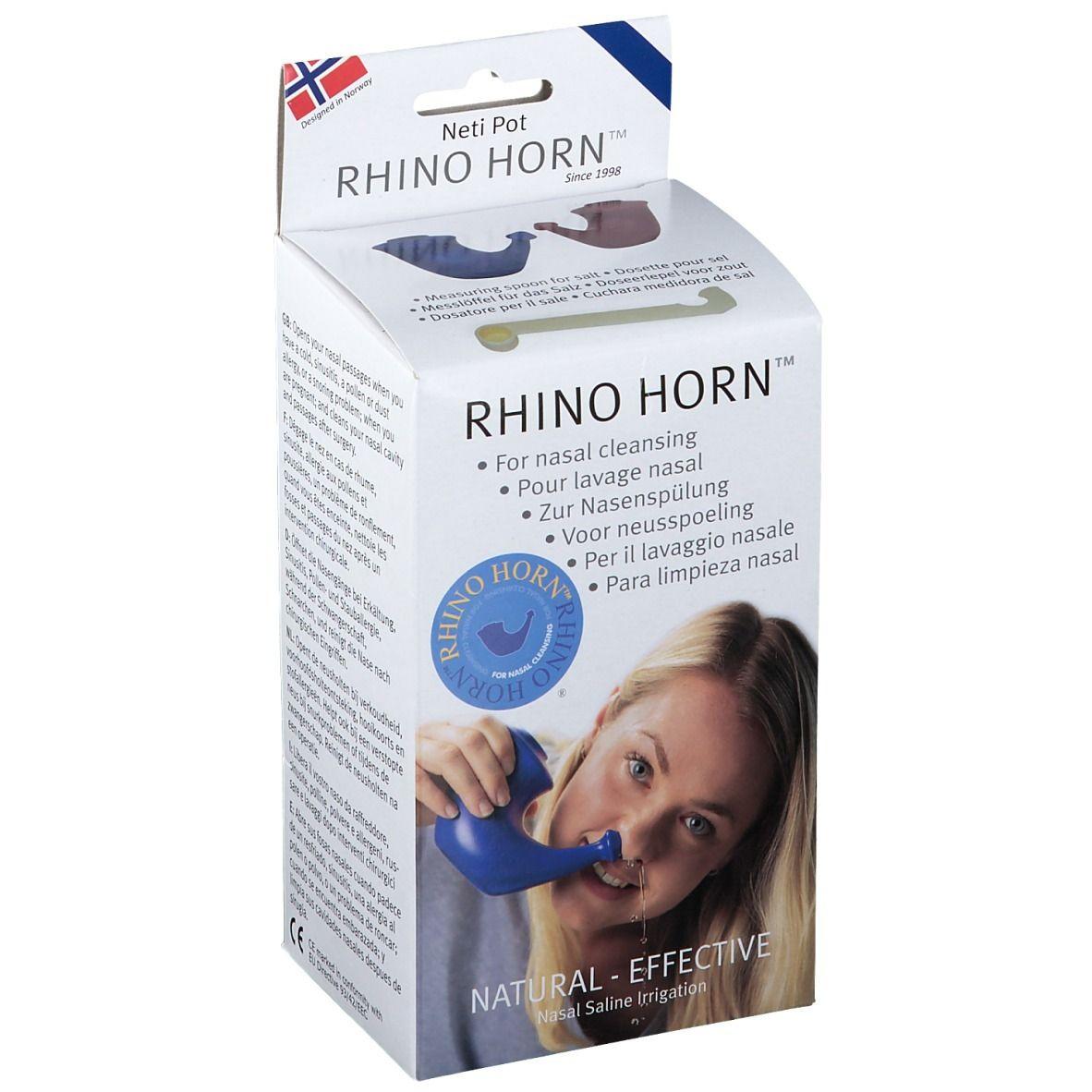 Rhino Horn Lave Nez Bleu pc(s) accessoire(s)