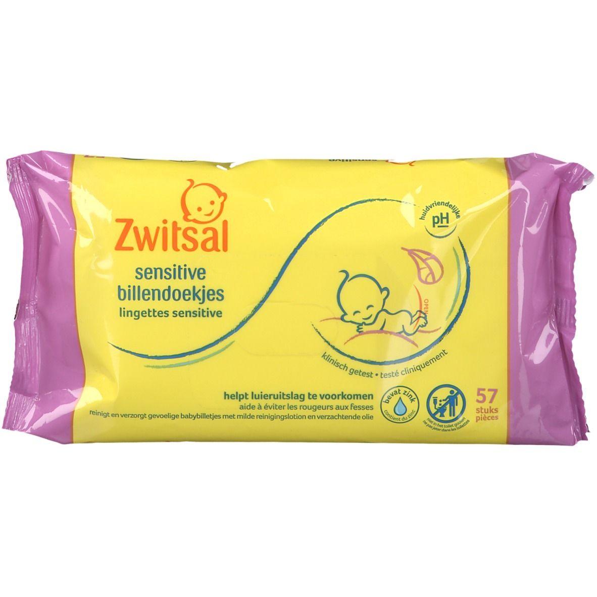 Zwitsal® Lingettes Sensitive pc(s) lingette(s)