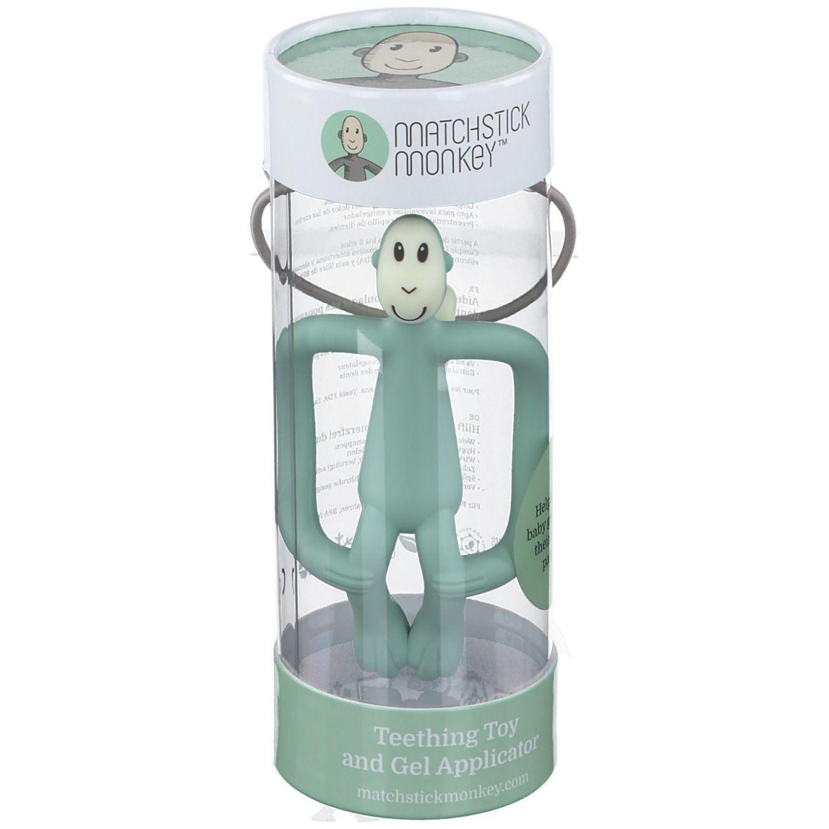 Avent Matchstick Monkey Anneau de dentition Vert menthe pc(s) anneau(x) de dentition