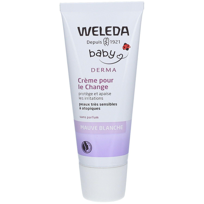 Weleda Bébé Derma Crème pour le Change à la Mauve blanche ml crème
