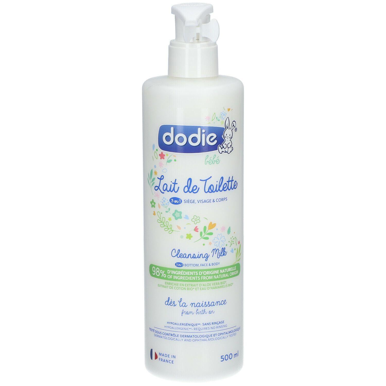 dodie® Lait de toilette 3 en 1 ml lait