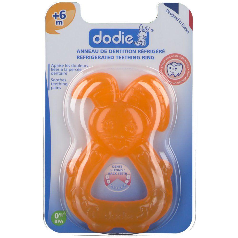 dodie® Anneau de dentition réfrigéré orange pc(s)