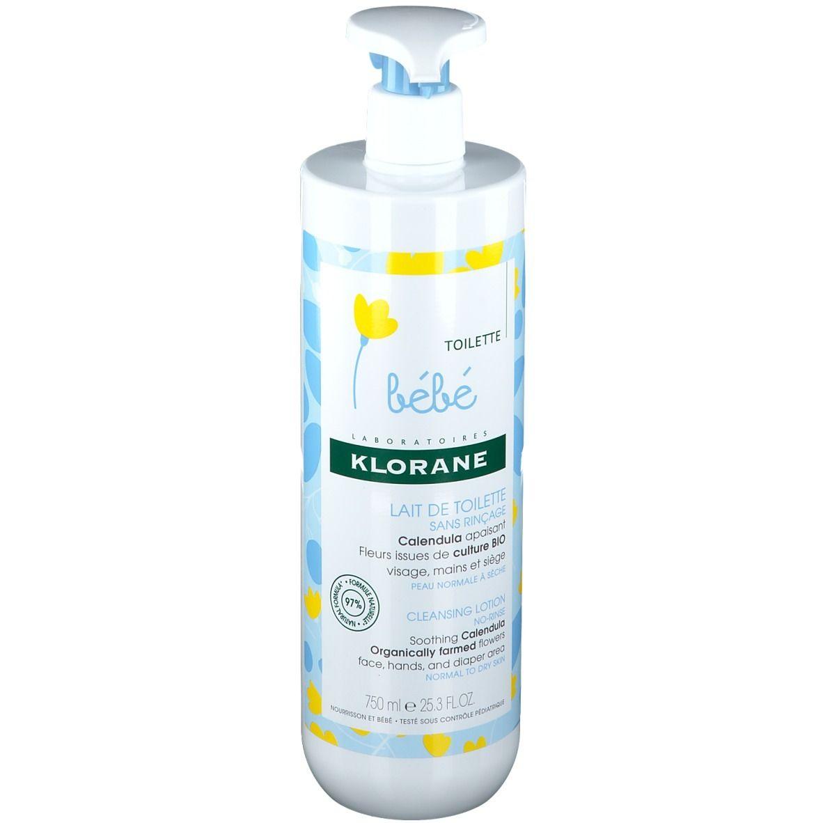 Klorane Bébé Toilette Lait de Toilette au Calendula Bio ml lait