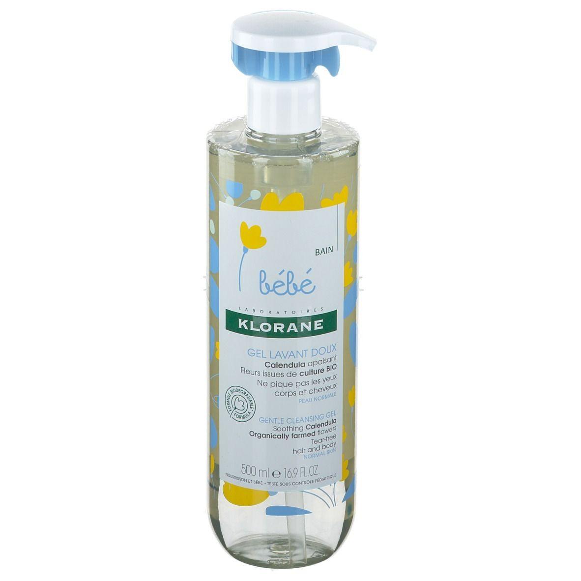 Klorane Bébé Bain Gel Lavant Doux au Calendula Bio ml gel(s)