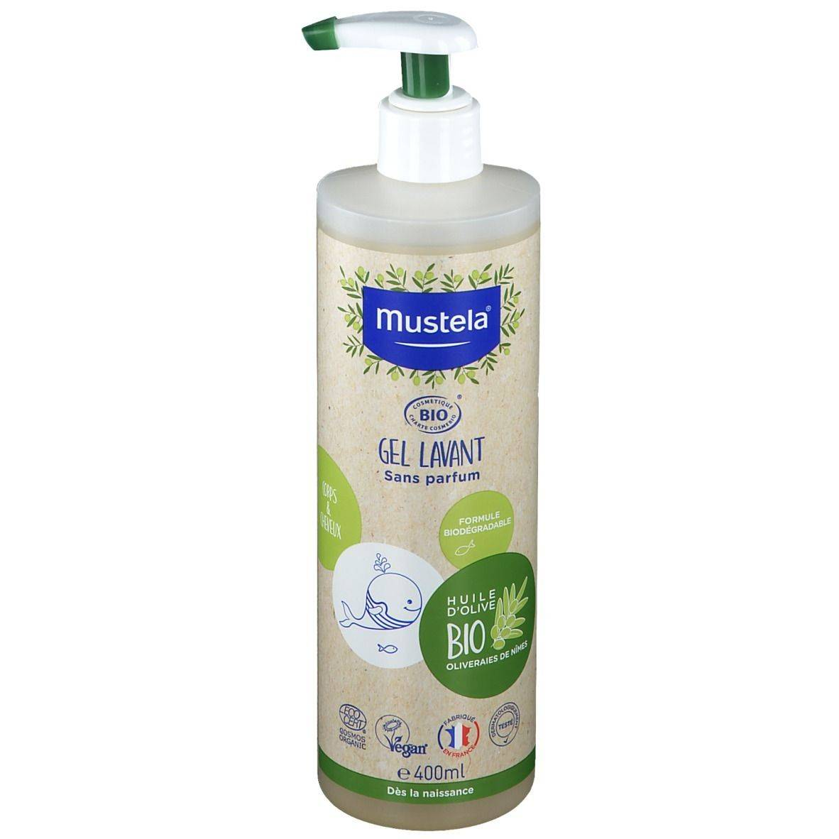 mustela® Gel lavant certifié BIO Corps & cheveux ml gel(s)