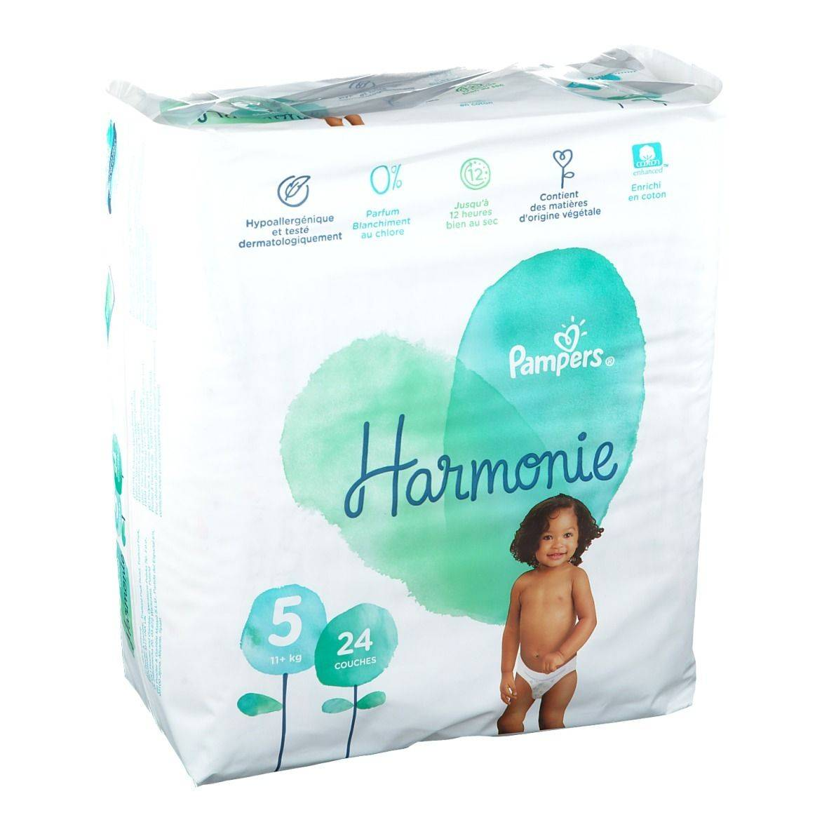 Pampers Harmonie Couches Taille 5 pc(s)
