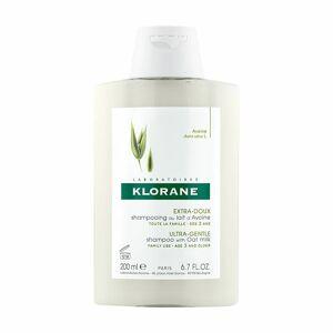 Klorane shampoing extra-doux au lait d'avoine ml shampooing - Publicité