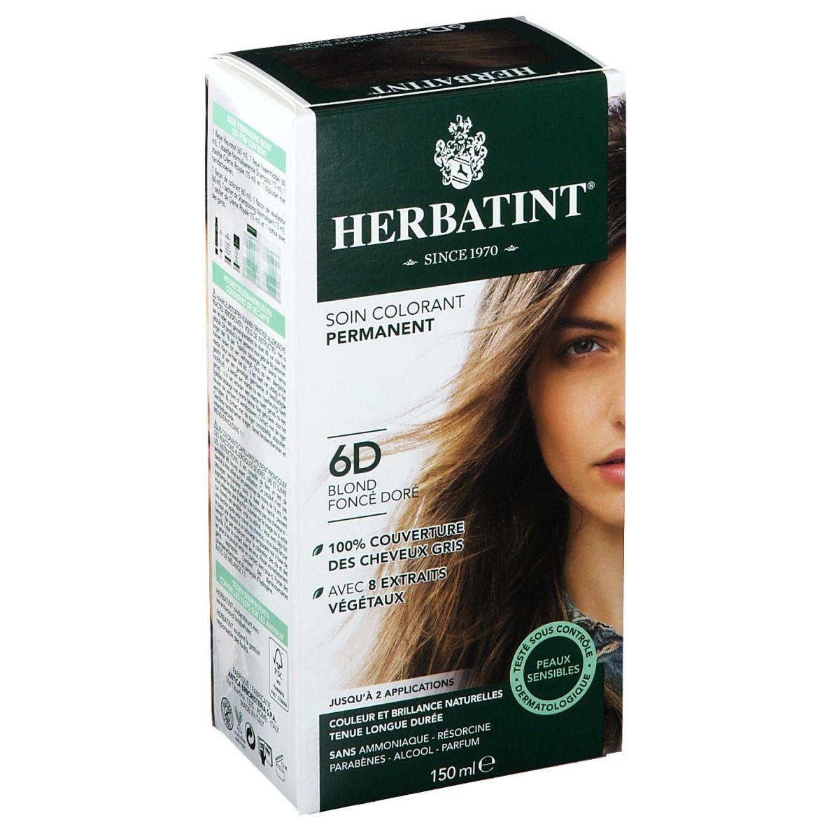 Herbatint Soin Colorant Blond Foncé Doré 6D ml solution(s)