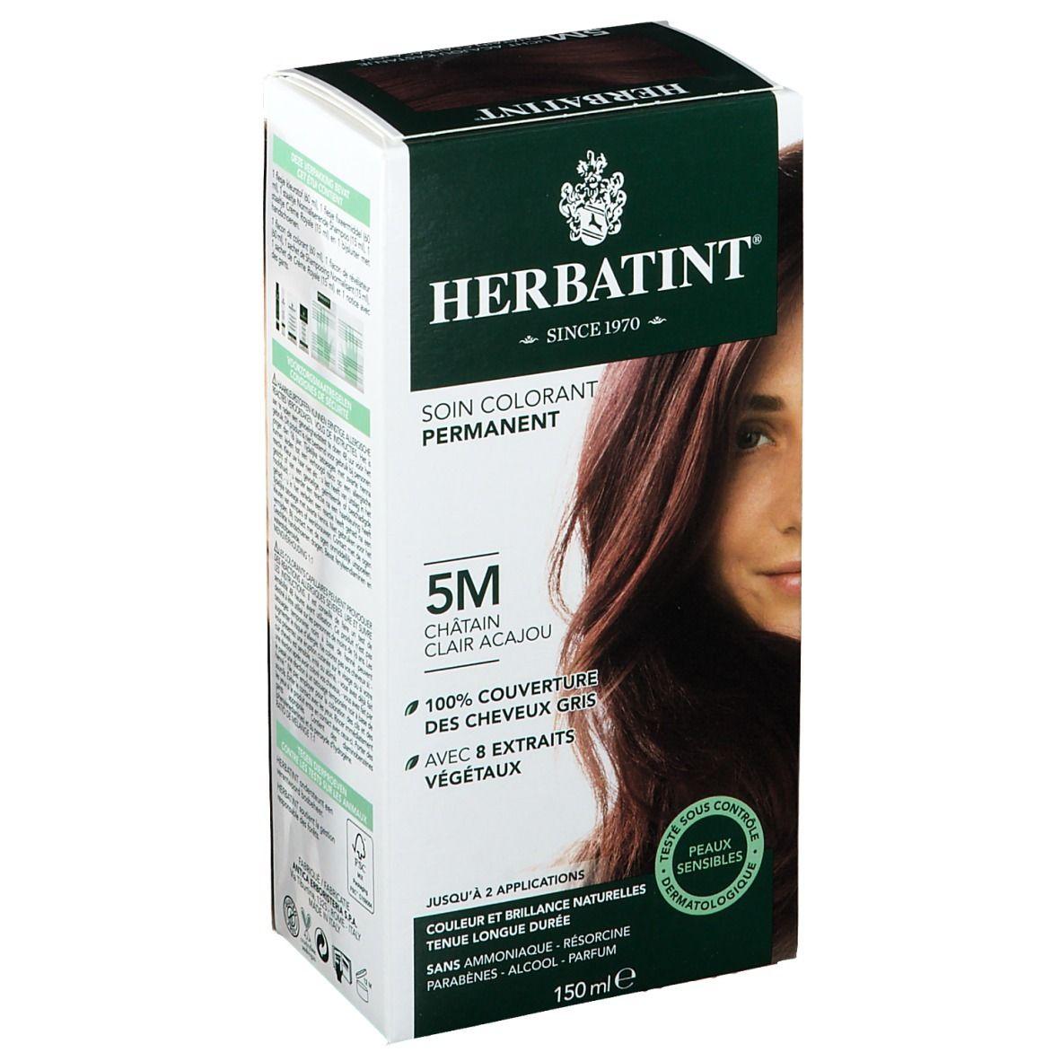 Herbatint Soin Colorant Permanent Châtain Clair Acajou 5M ml solution(s)