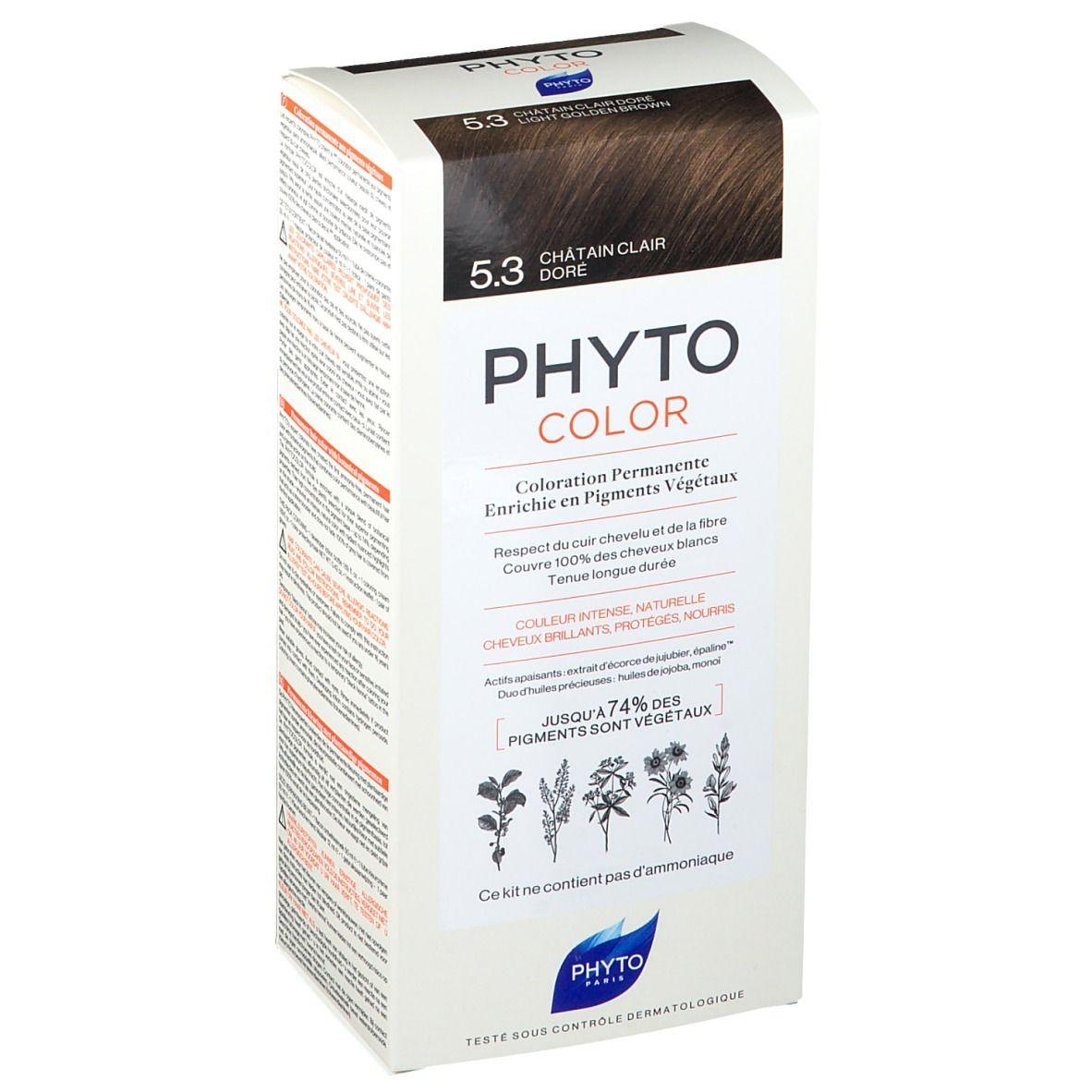 PHYTOCOLOR 5.3 Châtain clair doré pc(s) crème