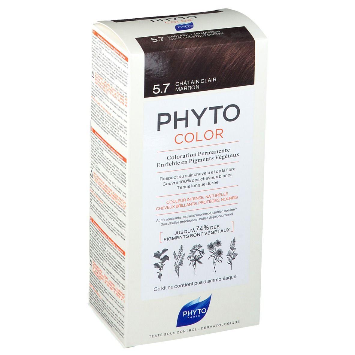 PHYTOCOLOR 5.7 Châtain clair marron pc(s) crème