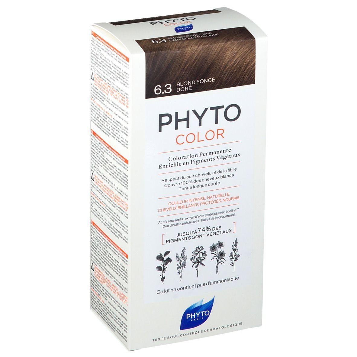 PHYTOCOLOR 6,3 Blond foncé doré pc(s) crème
