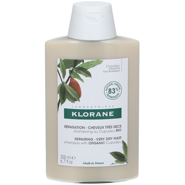 Klorane Nutrition & Réparation Shampooing au beurre de Cupuaçu BIO ml shampooing