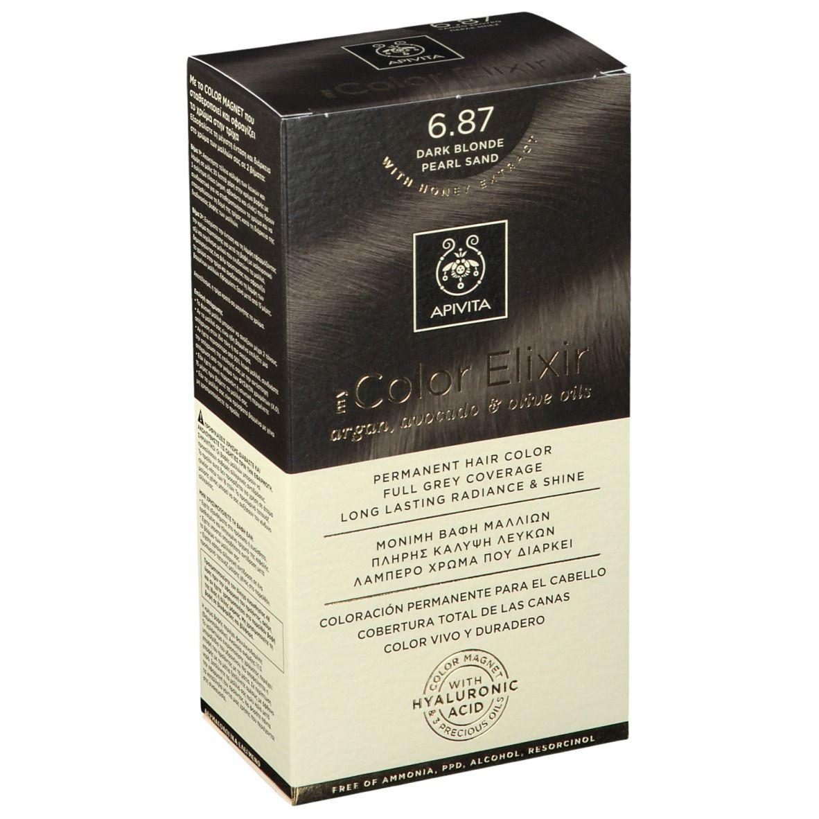 APIVITA My Color Elixir 6.87 Blond foncé Pearl Sand ml élixir