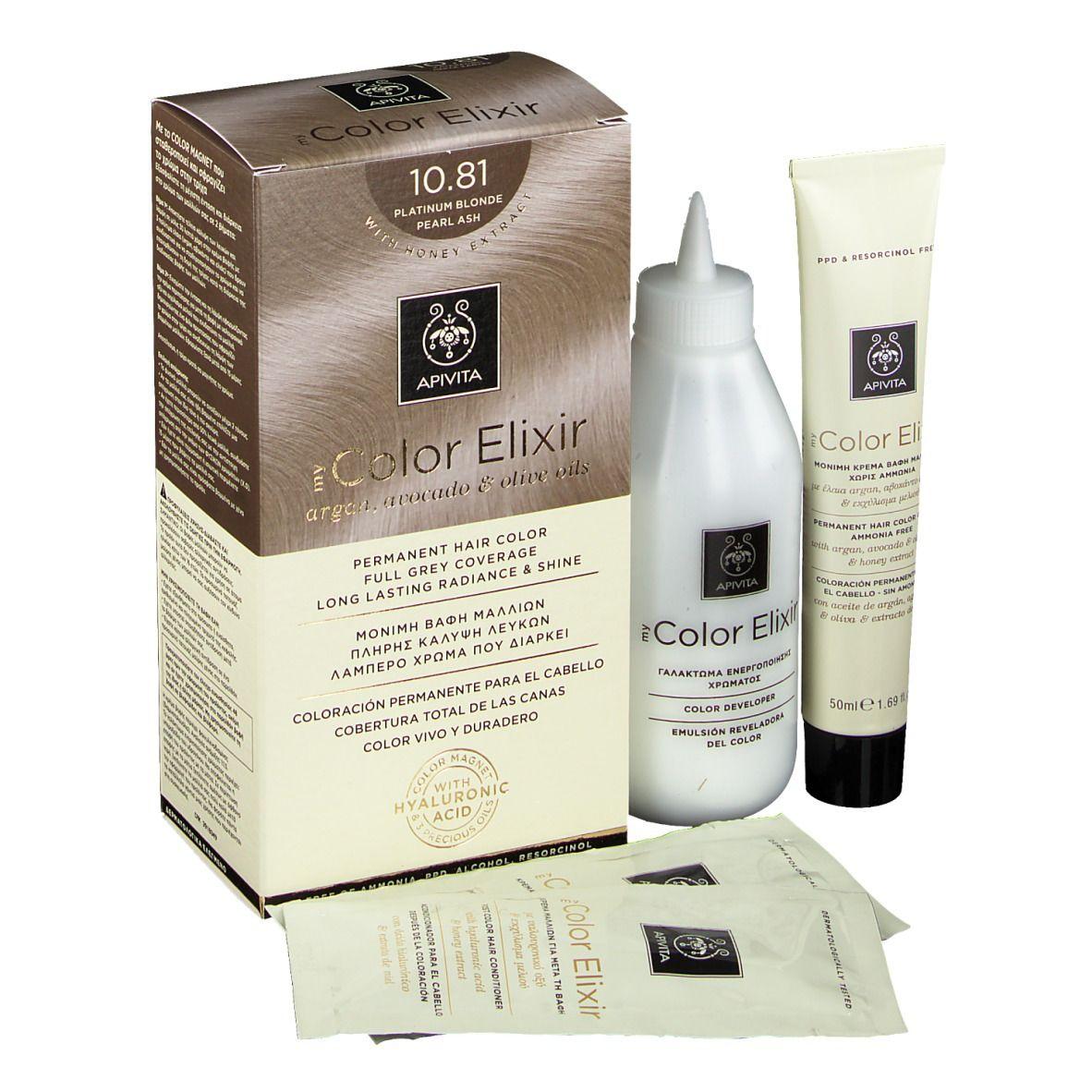 APIVITA My Color Elixir 10.81 Platinum Blond Pearl Ash ml élixir